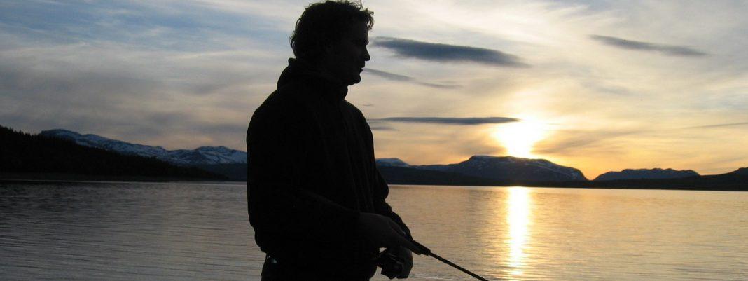 Fishing at Golsfjellet