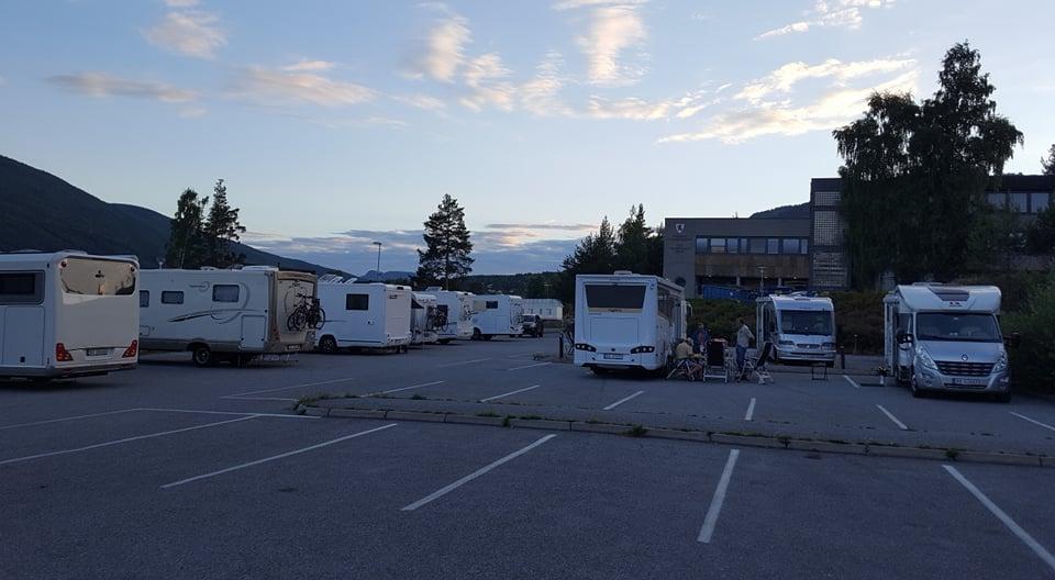 Campervan parking - Gol centrum