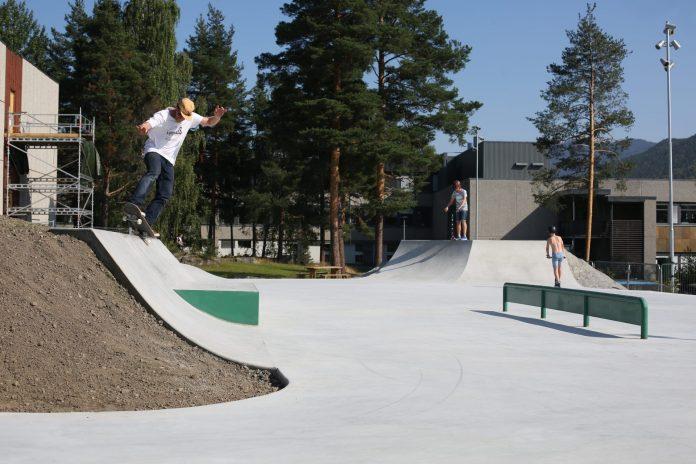 Skatepark in Gol centrum 2